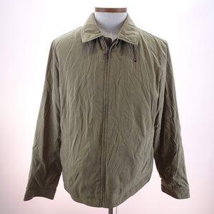 Tommy Hilfiger Men's Brown Full Zip Jacket Size L